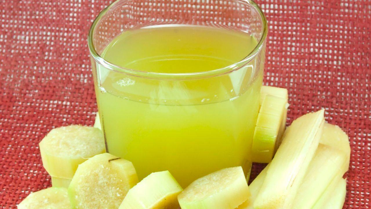 فوائد عصير قصب السكر Glass Of Milk Juice Sugar Cane
