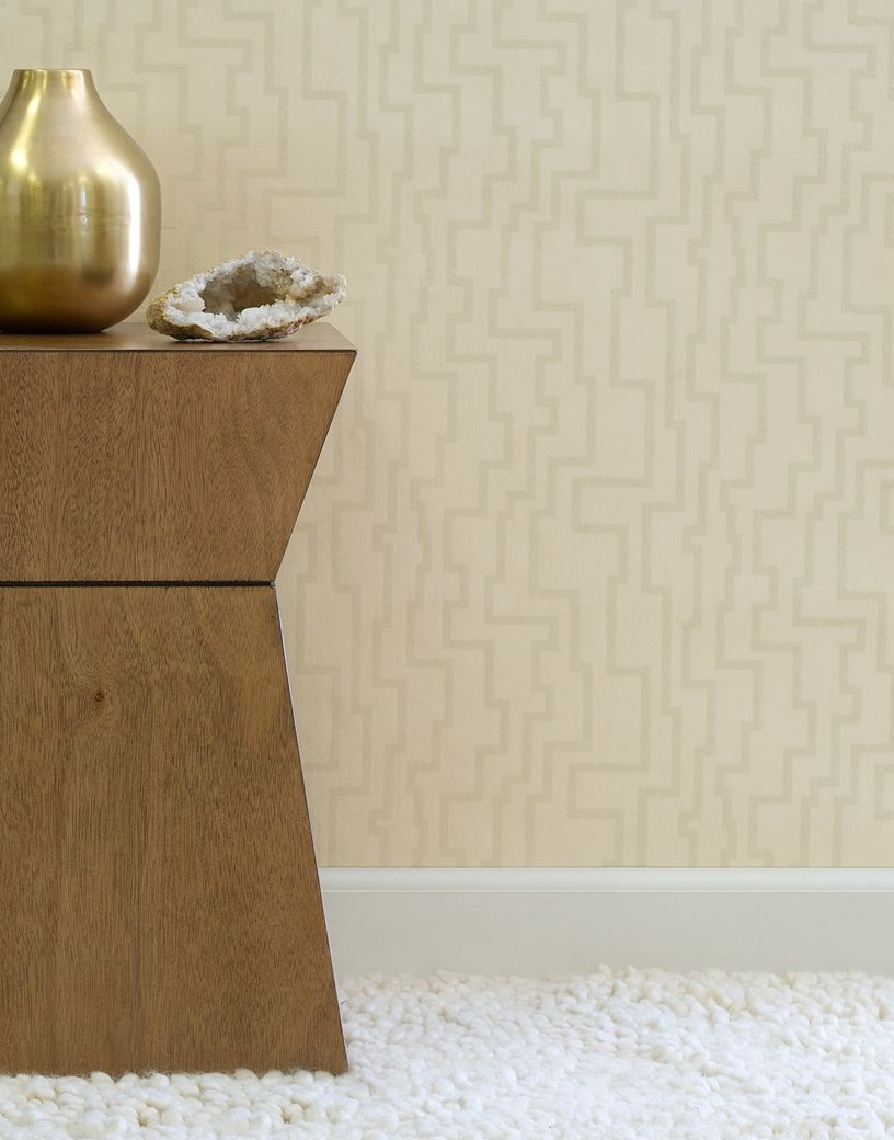 Glimmer Wallcovering In Color Neutral From Fabricut S Color