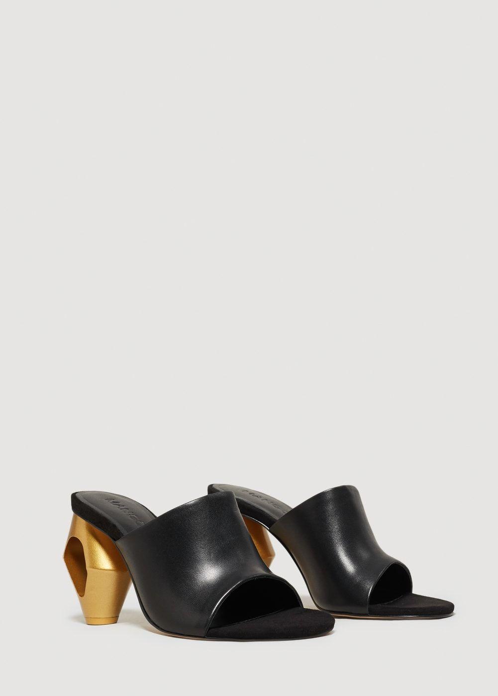 GANT ZOE Mule de Tacón Medio de Piel  Zapatillas para Mujer WZjDHdCBrc