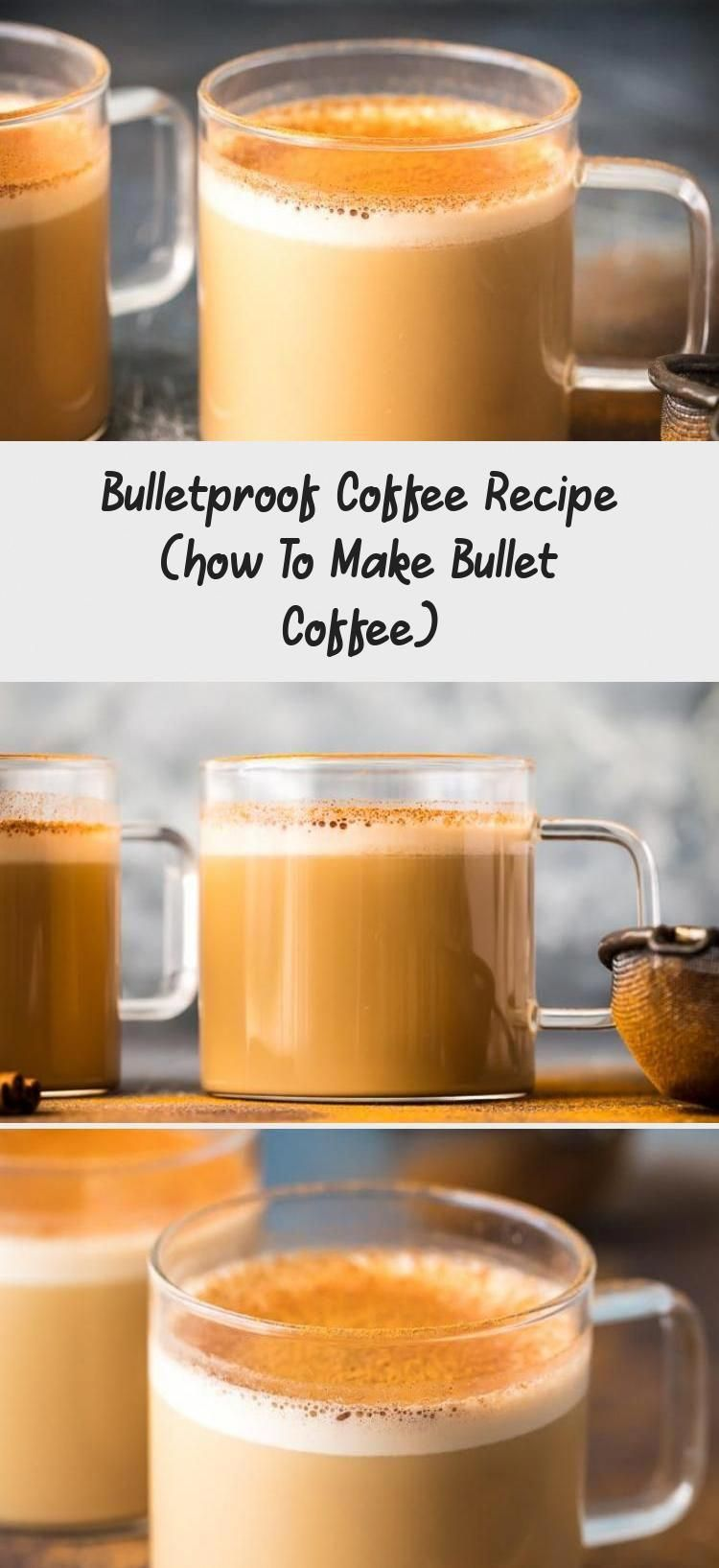Bulletproof Coffee is a rich, creamy coffee drink filled with healthy fats. It's made with coffee, grass-fed butter, and MCT oil. Coffee with butter has many added health benefits that you don't get from regular #HotCoffee #CoffeeInstagram #CoffeeHouse #CoffeePackaging #CoffeeTable #OrganicGreenCoffeeForWeightLoss
