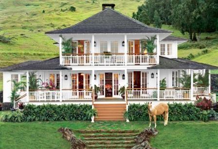 I want Oprah Winfrey's plantation style house on Maui!!