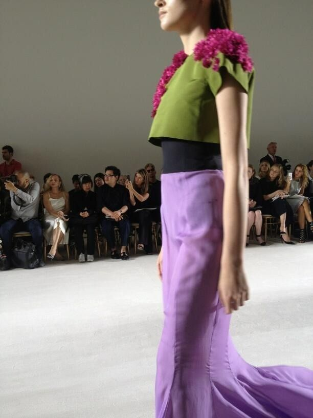 Paris   Haute couture FW 2013/2014   Giambattista Valli  //   Haute front row ..