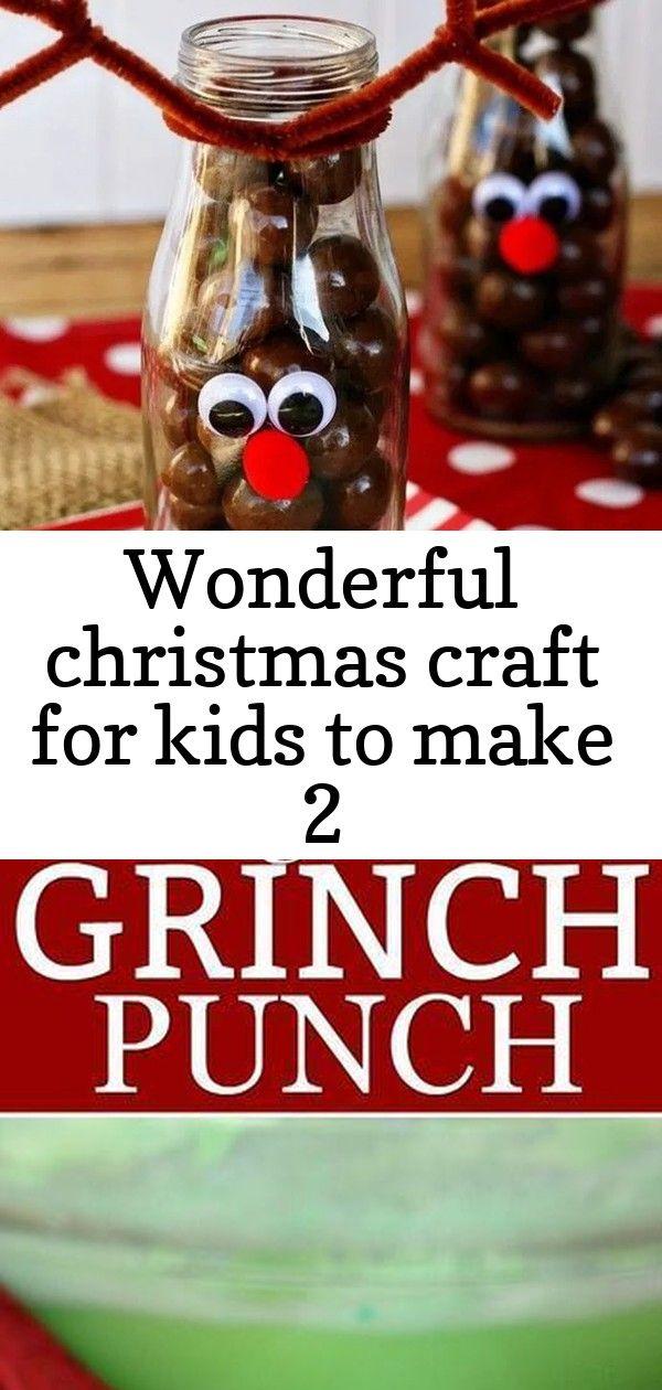 Wonderful christmas craft for kids to make 2 #grinchpunchrecipe