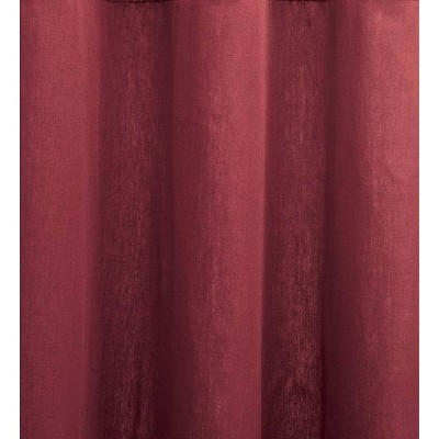 Tab Top Insulated Short Curtain Red Plow Hearth