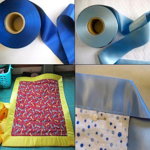 JKM Bulk 25 Yd Satin Blanket Binding