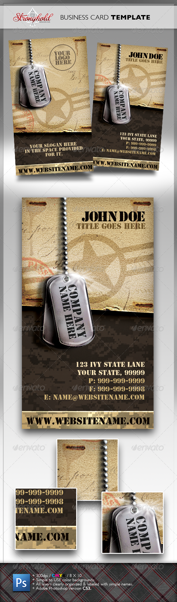 Vintage Military Business Card   Business cards, Business and Card ...