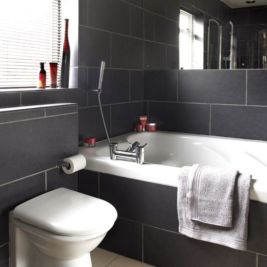 view in gallery subway black and white tile bathroom ideajpg. 45 Magnificent Pictures Of Retro Bathroom Tile Design Ideas Black