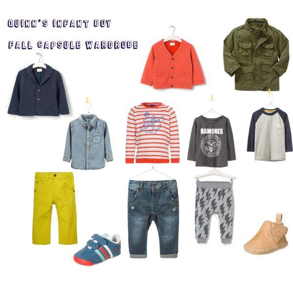 Infant Boy Fall Capsule Wardrobe Boy Style Little