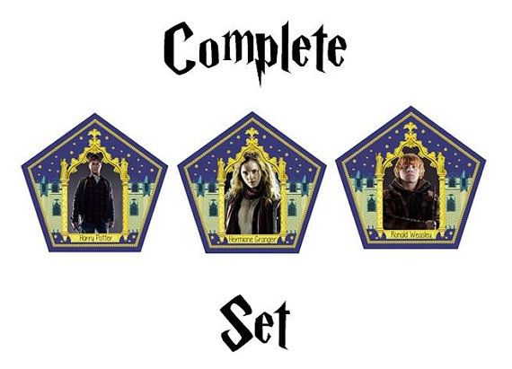 graphic about Harry Potter Chocolate Frog Cards Printable named Chocolate Frog Playing cards *Thorough Mounted* Harry Potter [Electronic