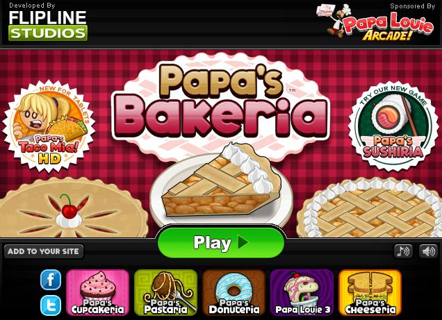 Papa S Bakeria Papa Fun Math Games 10 Anniversary