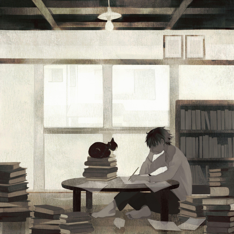 物書きと和室 tono〈Works〉   イラスト, お絵かき, アートの基本