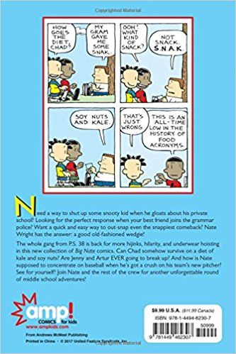 Big Nate A Good Old Fashioned Wedgie Comics