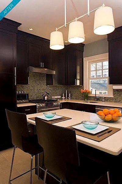 Cocina con barra decoraciones hogar cocinas modernas - Racholas cocina ...