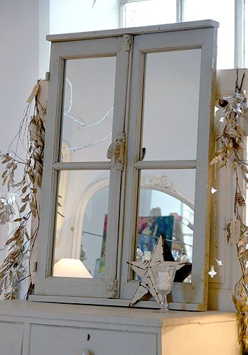Window Mirror, Decorative Window Frame Mirrors