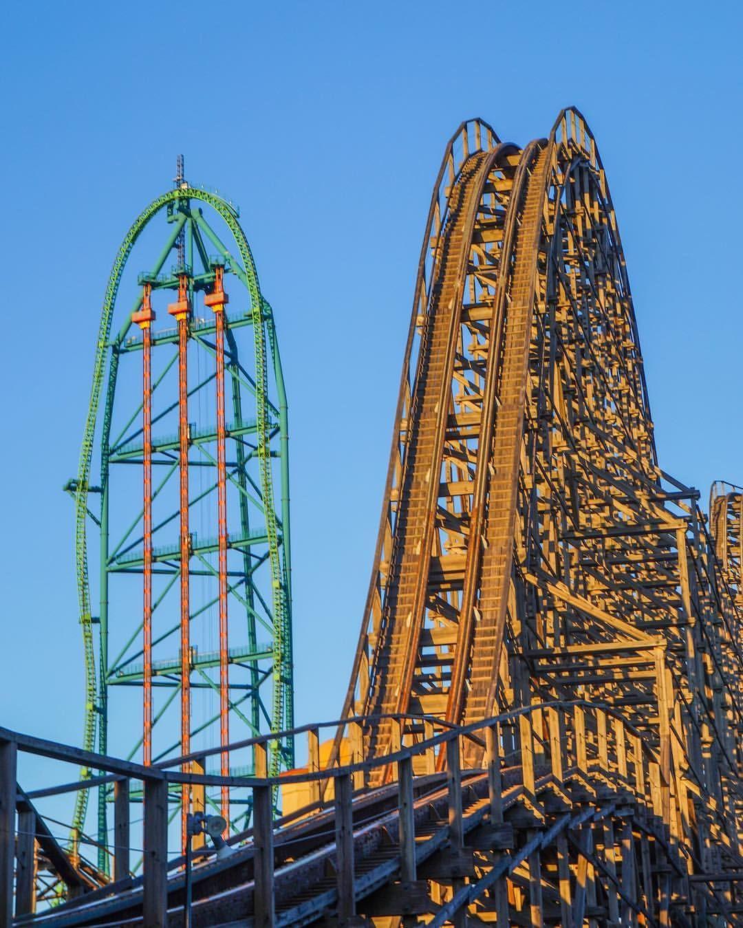 El Toro And Kingda Ka At Six Flags Great Adventure