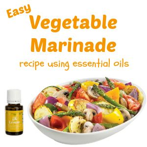 Easy vegetable marinade recipes