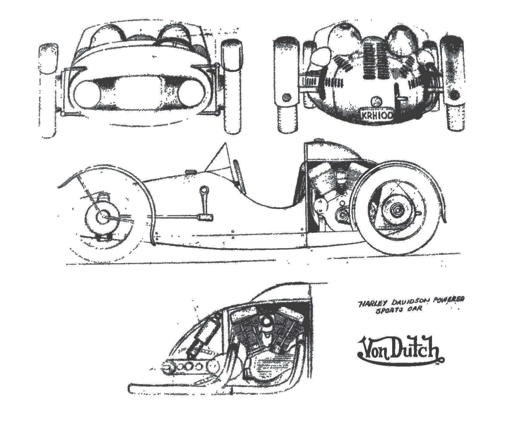 Kh Car Sketches