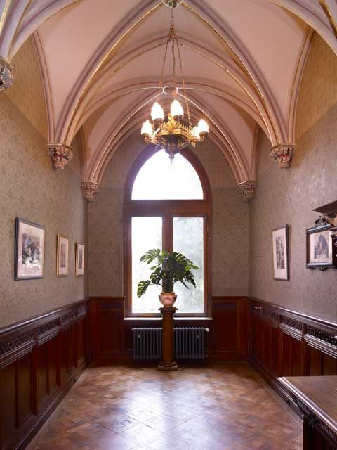 Schloss Drachenburg, Königswinter, Germany, built between 1882 and 1884 as a private villa for Baron Stephan von Sarter
