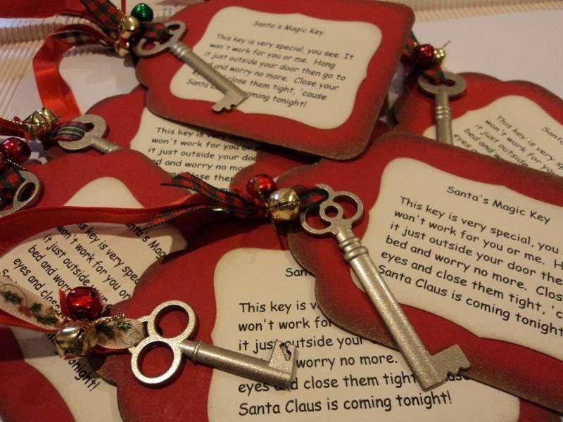 Christmas Bazaar Craft Ideas Part - 23: Santau0027s Magic Keys By Candee Porter - Cards And Paper Crafts At  Splitcoaststampers · Christmas Bazaar ...