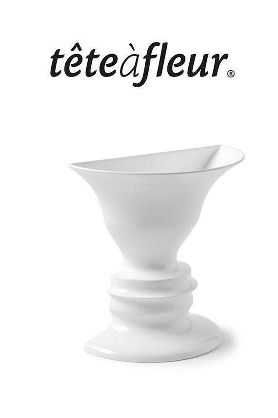 Paul M Baars Tete A Fleur La Grande 2005 Ambiguous Face Vase