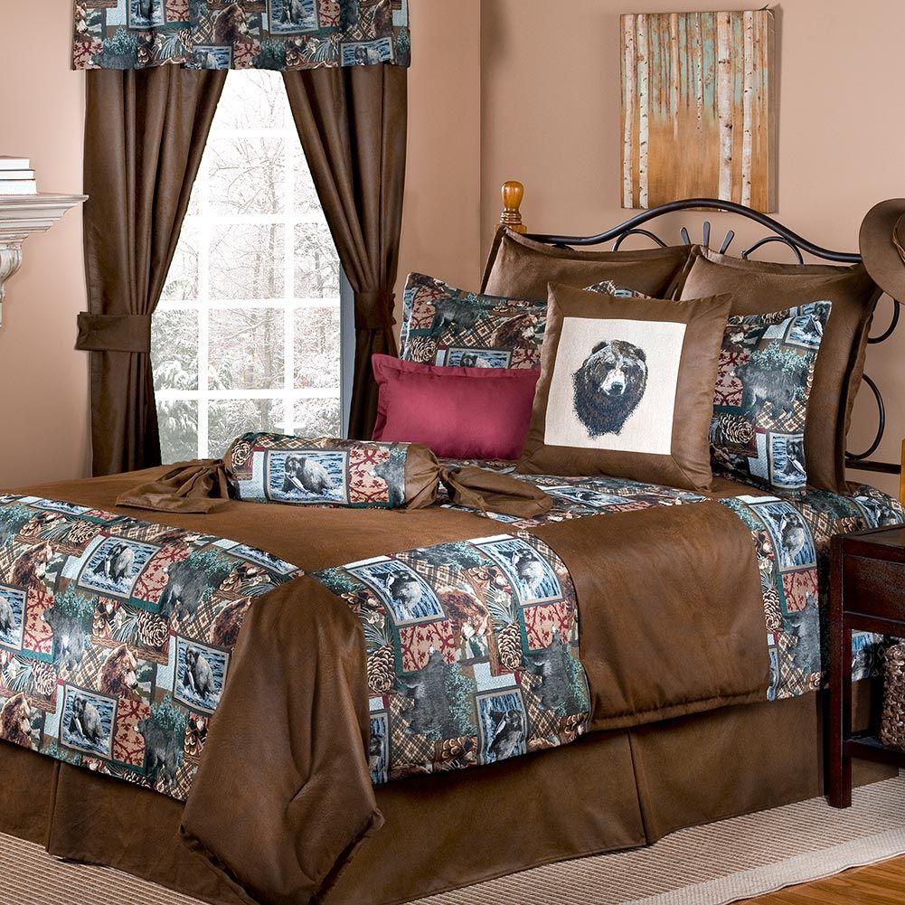 Alaskan Brown Bear Bedding Sets Bedding sets, Comforter
