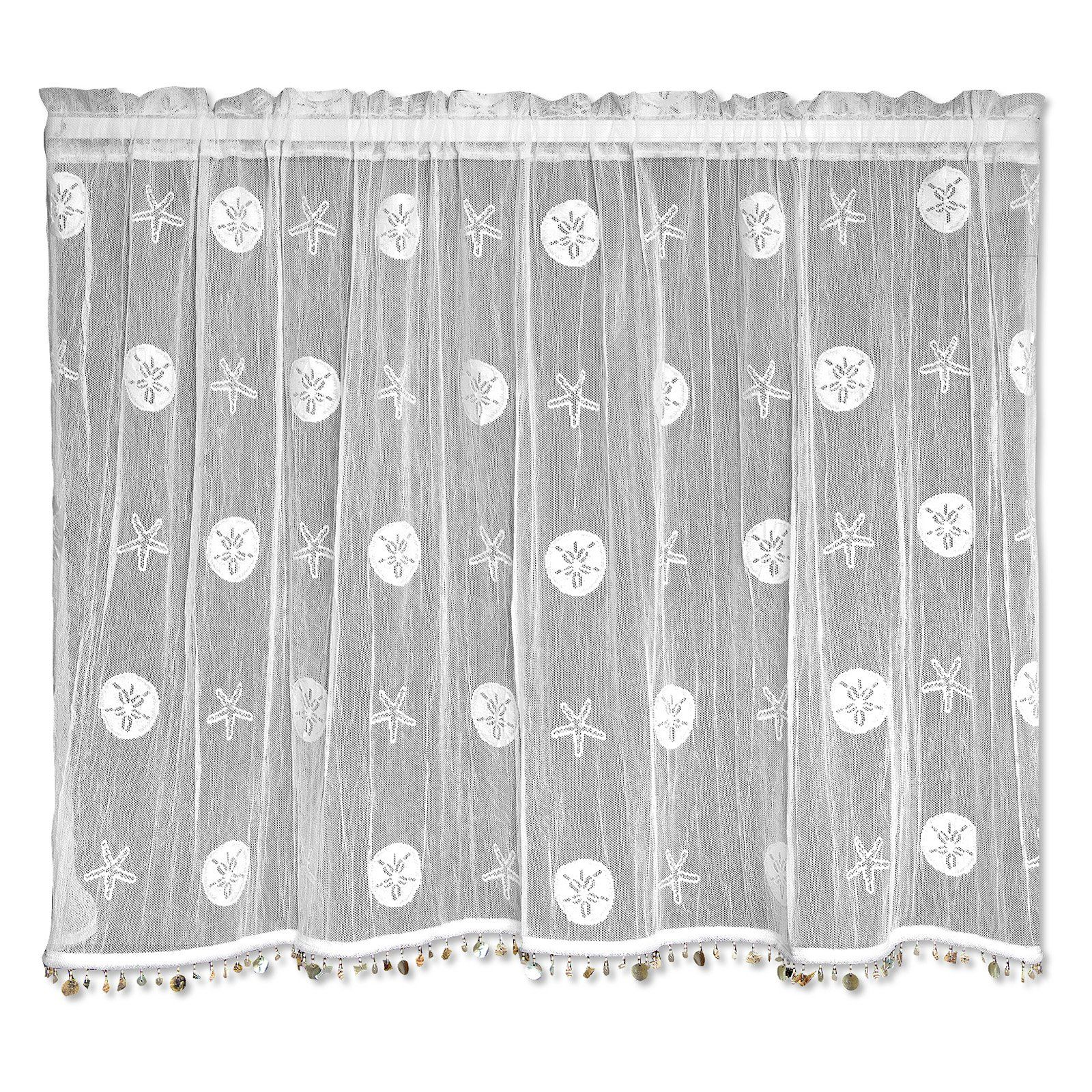 Heritage Lace Sand Dollar Curtain Tier