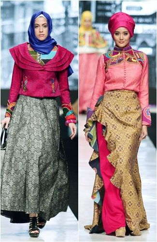 Color block  Dian Pelangi  muslimah  Pinterest  Color blocking