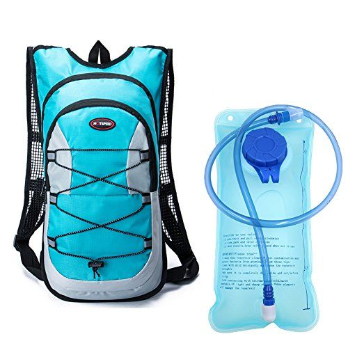 955868e5683 Monvecle Hydration Pack Water Rucksack Backpack Bladder Bag Cycling Bicycle  Bike/Hiking Climbing Pouch +