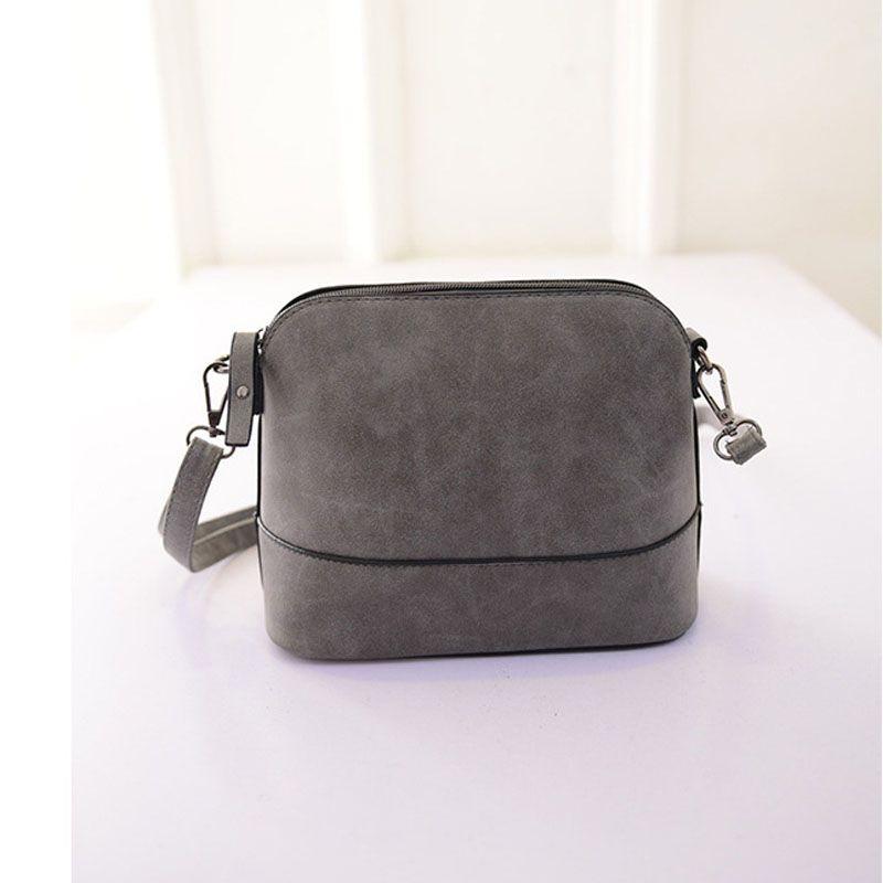 f5110719b61f Famose Brand Womens Bag Scrub Shoulder Bag Women s Handbags Leather Purse  Satchel Messenger Bags Clutch Designer