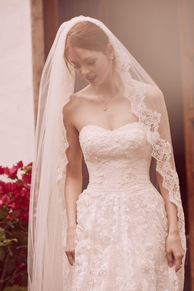 Melissa Sweet Bridal Gowns from David\'s Bridal. Romantic lace ...
