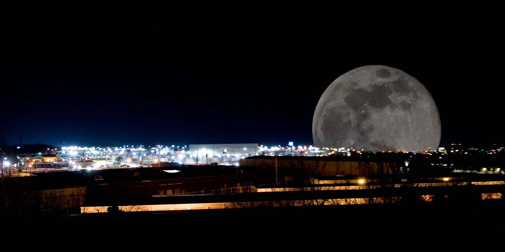 Moonrise Over Rivergate Mesmerising Moon Pinterest Ansel Adams