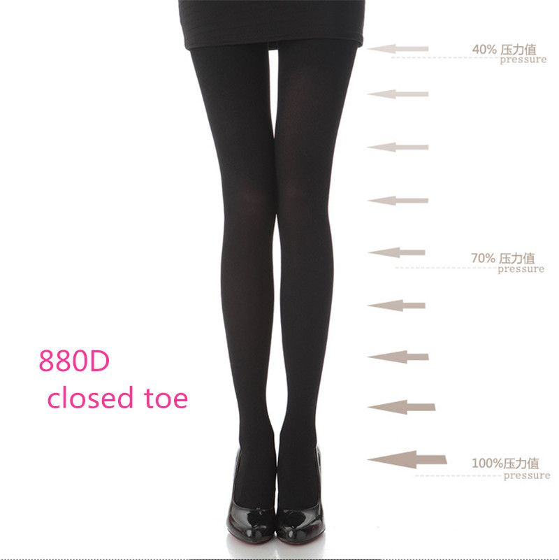 35d4013265fea7 women 880D 680D Varicose veins fashion slim leg burn adipose pressure pants  elastic tights #Nylon