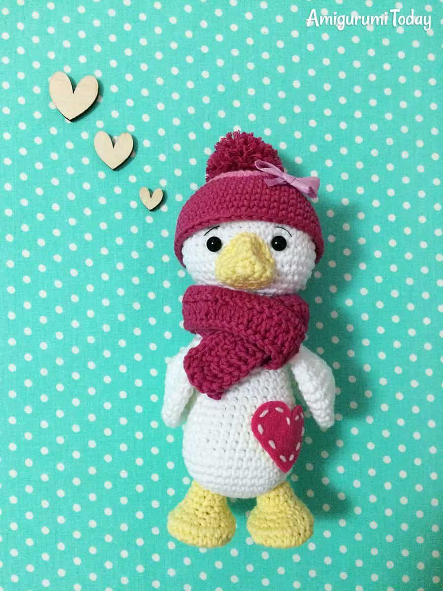 Amigurumi Birds Free Crochet Patterns | 1200x900