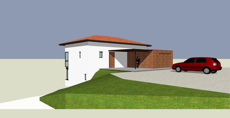 Façades Nord et Est Plan maison terrain en pente Pinterest - plan de maison sur terrain en pente