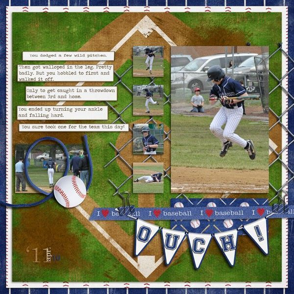 Sports Scrapbooking <3 this idea and have lots of photos that would be perfect in this format. Description from pinterest.com. I searched for this on bing.com/images
