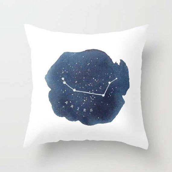 Pillow,Aries Zodiac Sign Horoscope