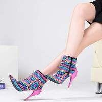 f70c45b233c Pink Palms women High Fashion sequined cloth fuchsia bling high ...