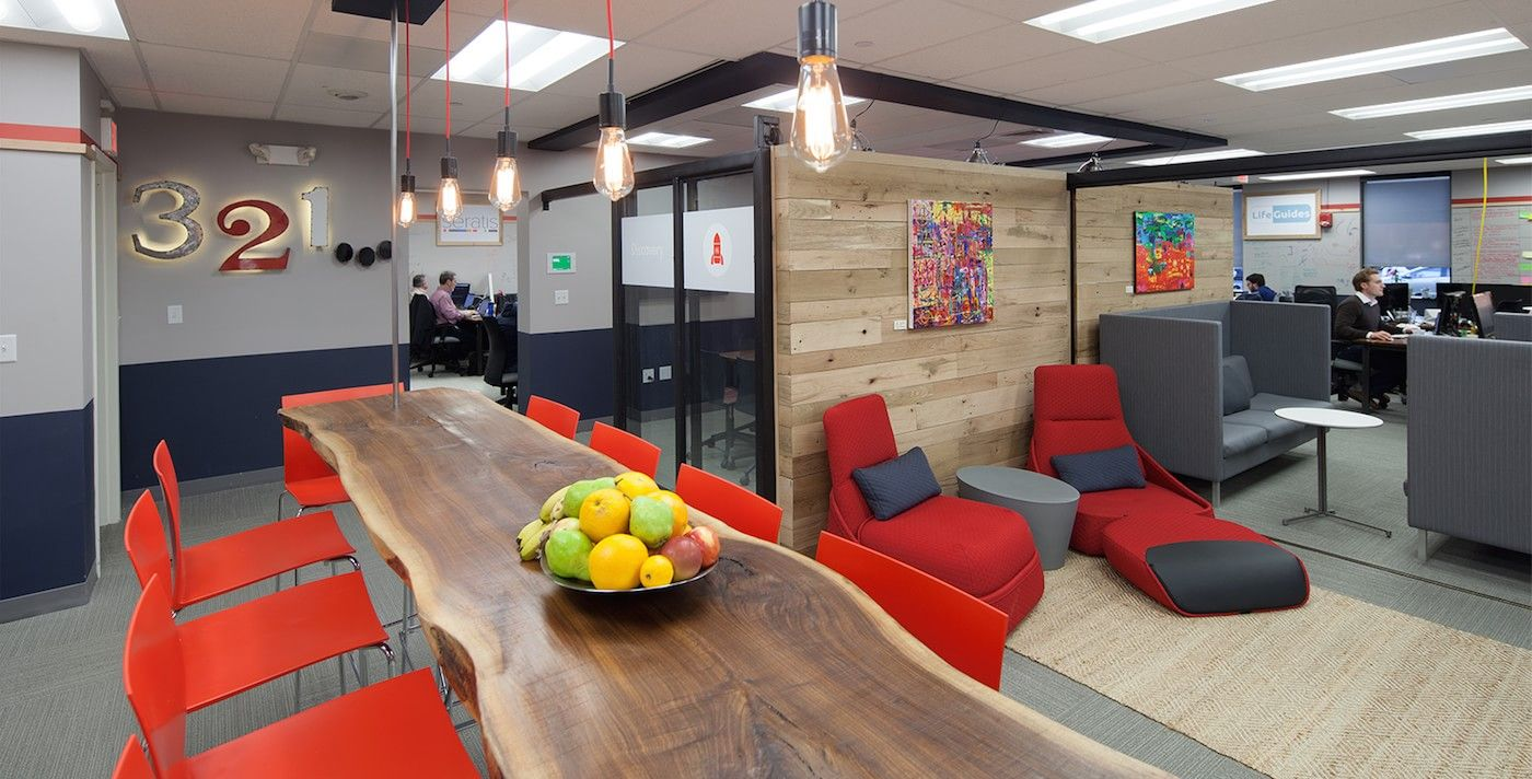 The launch lab is a short term co working space across the for Innovation lab