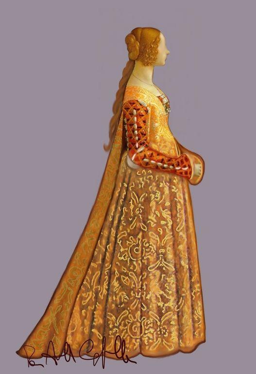 Abbigliamento Forum E Le Nel Cuore Del Medioevo Rinascimento Perle NPOk8X0nw