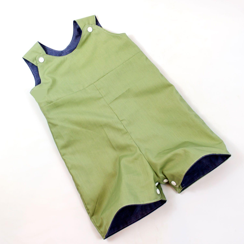 Reversible Baby Romper Pattern | Nähideen, Kinder kleidung und Diy ...