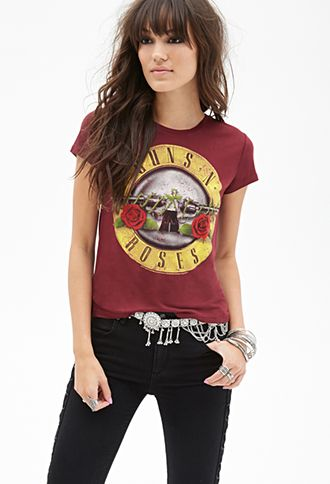 41afd65f2 Guns N' Roses Graphic Tee   FOREVER21 - 2000057279   outfits   Guns ...