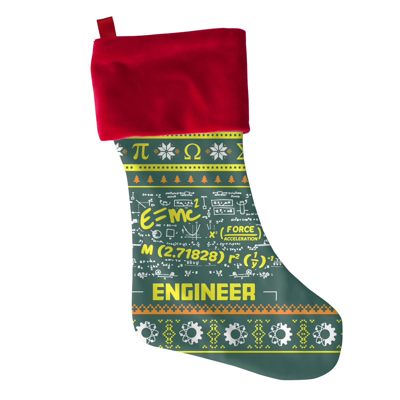 Engineer Christmas Stocking