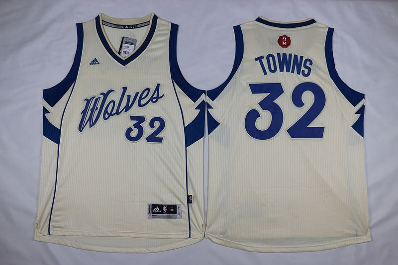 40c7dc1216d Minnesota Timberwolves Karl-Anthony Towns  32 Christmas Day Swingman  Stitched Jersey