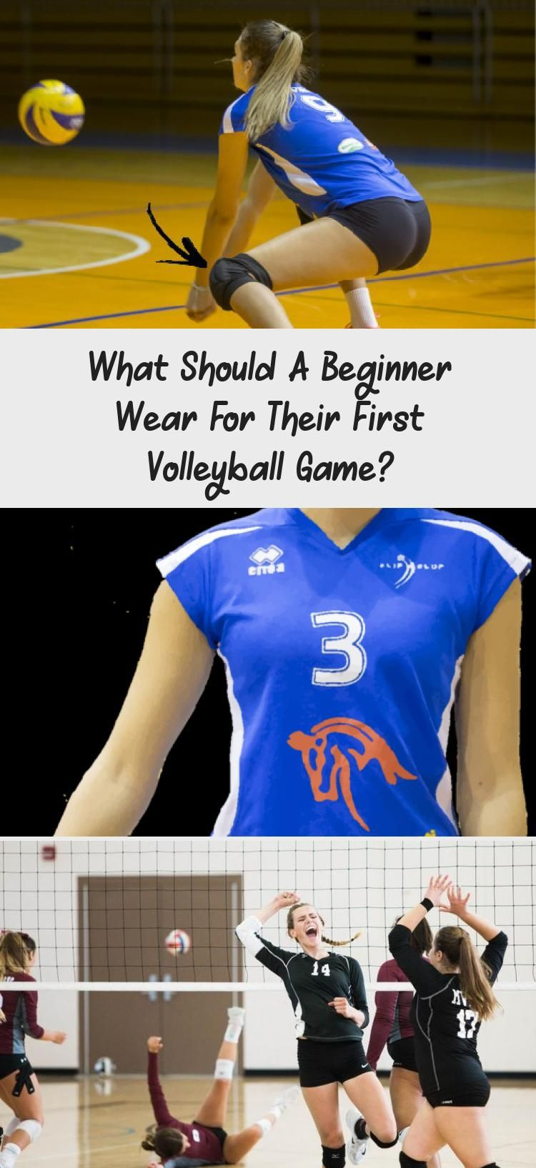 What Should A Beginner Wear For Their First Volleyball Game In 2020 With Images Volleyball Knee Pads Volleyball Games Volleyball