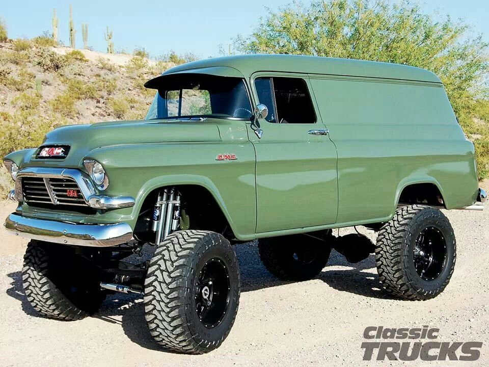 Gmc 4x4 panel truck love of cars pinterest gmc 4x4 for Garage 4x4 ain