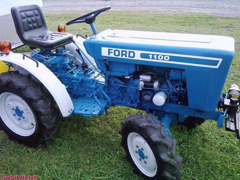 Ford 1100 Tractors Tractor Photos Tractor Idea