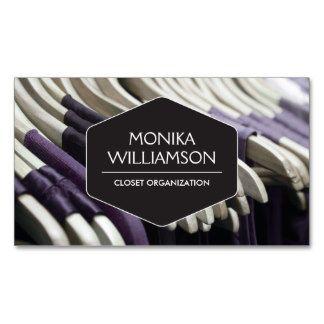 Personal Closet Organizer closet organizer, personal shopper business card | image