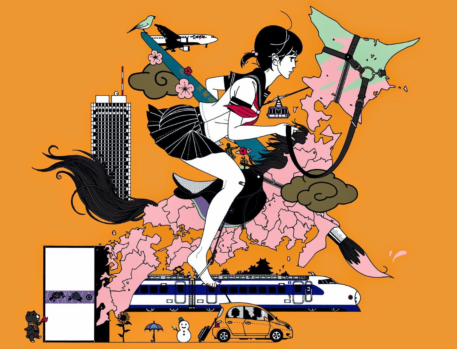 中村佑介 Yusuke Nakamura Illustrations And Posters Art Graphic Illustration