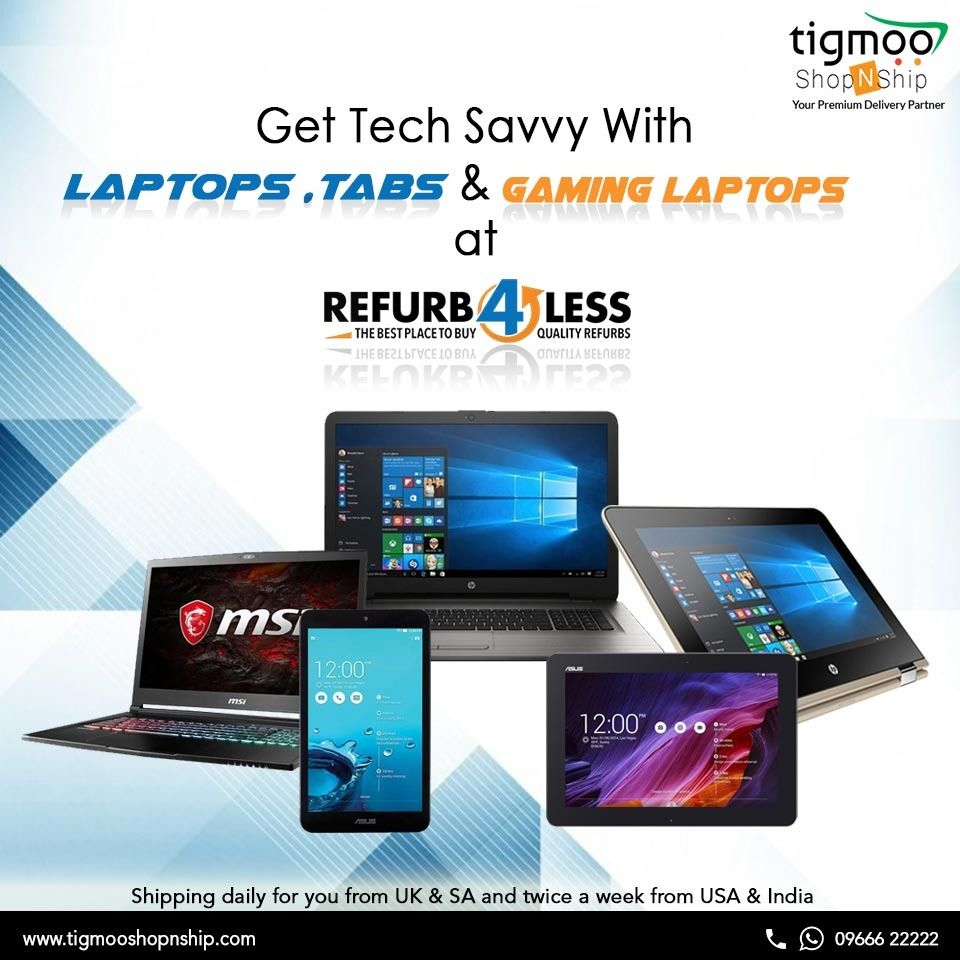 Top brands of laptops and tabs at lowest price with