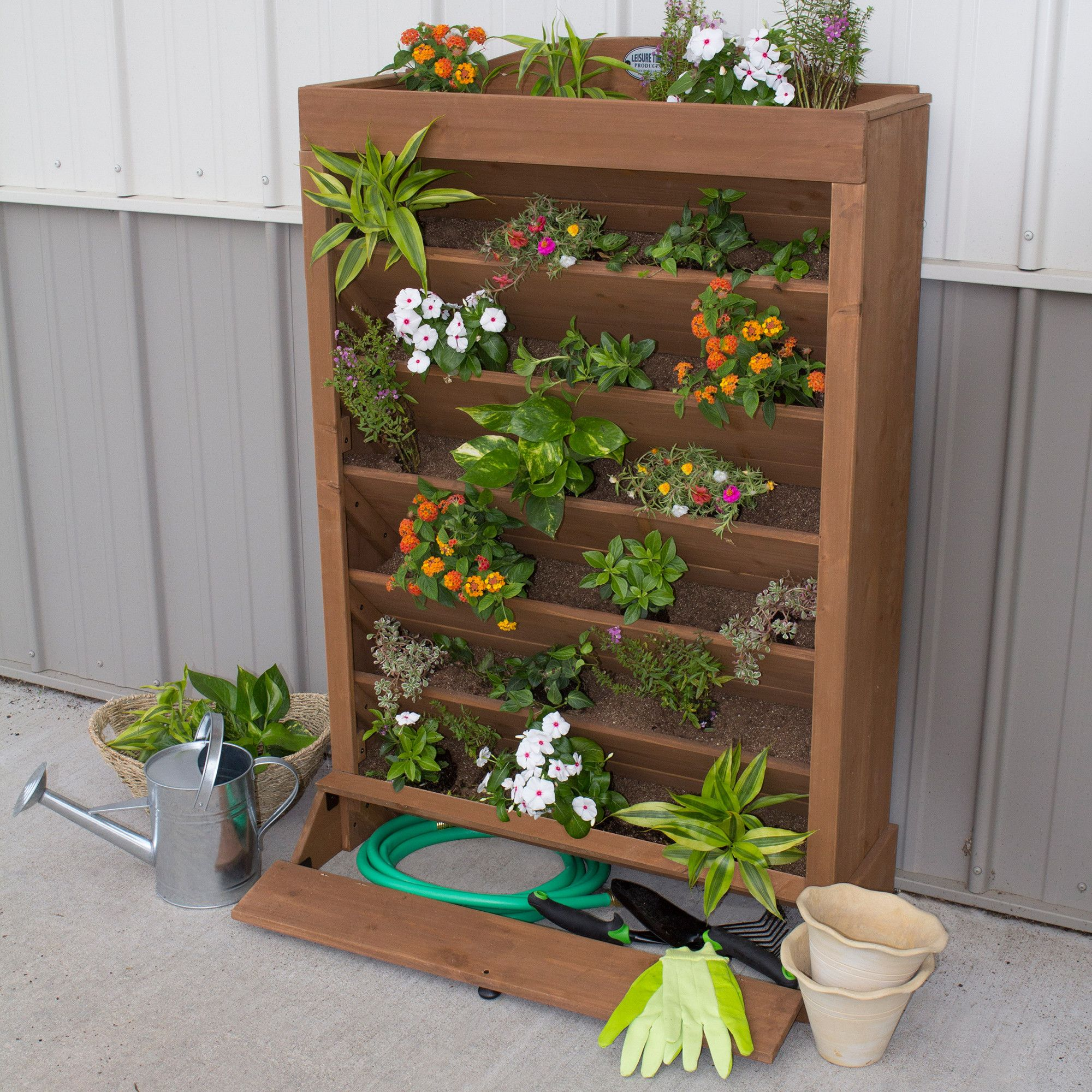 Vertical Herb Garden Ideas: Vertical Garden – Backyard Discovery